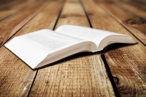 De Bijbel ligt bij ons altijd open
